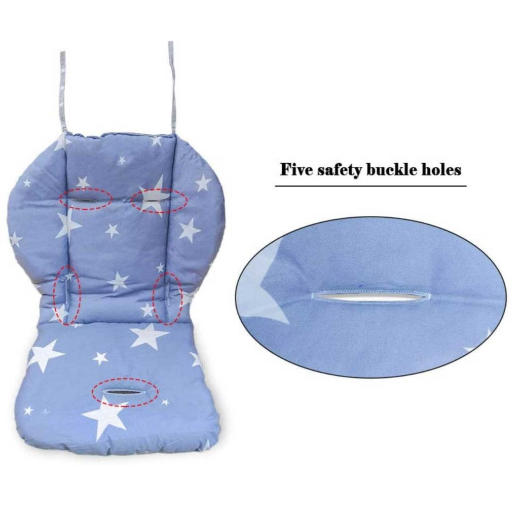 Twoworld High Chair Cushion Best Baby trend high chair cover replacement