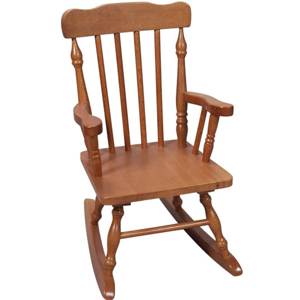 Child's Colonial Rocking Chair Best Personalized baby rocking chair