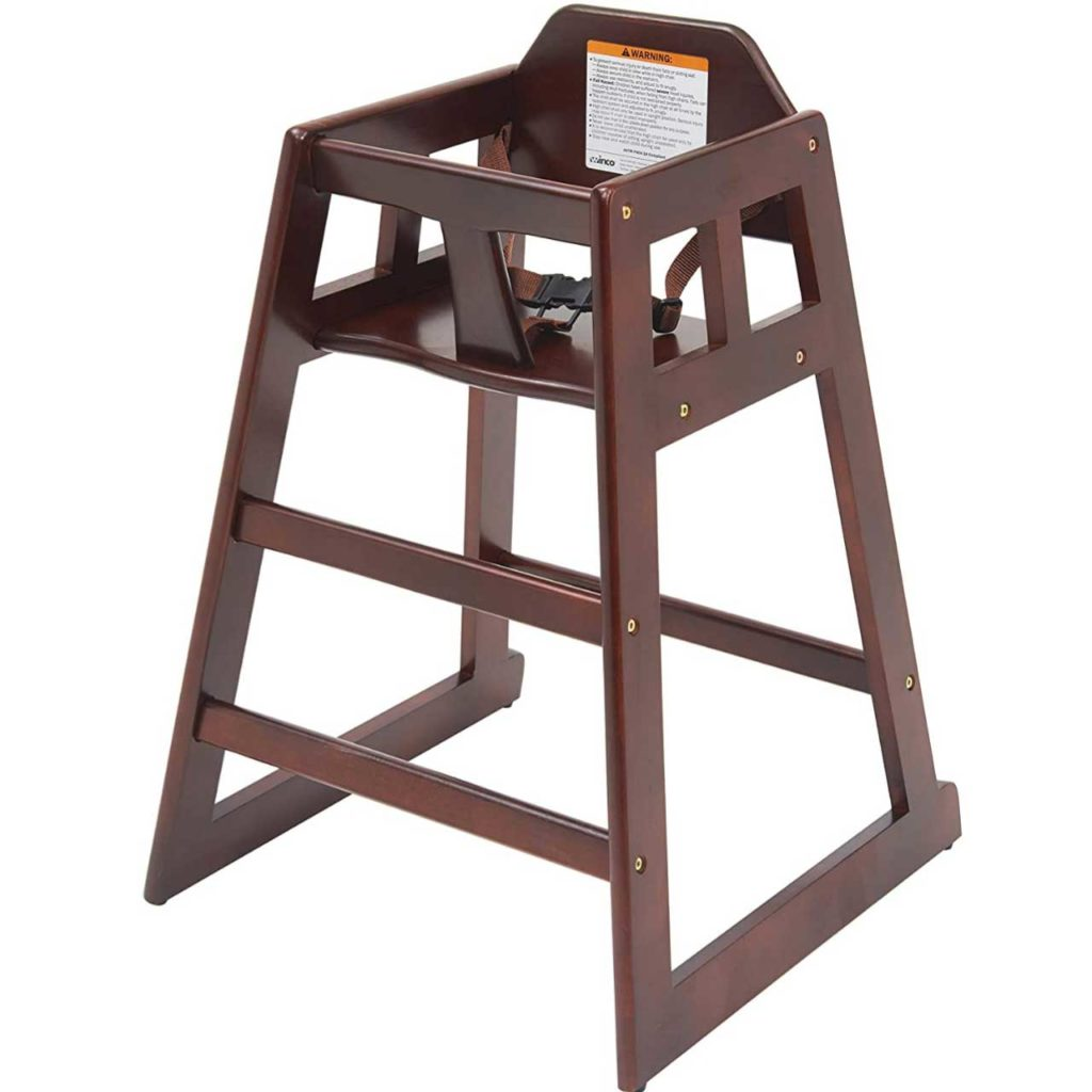 High grade wood baby high chair best choice products