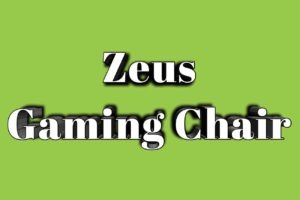 Zeus Gaming Chair – Specifications and Review 2020