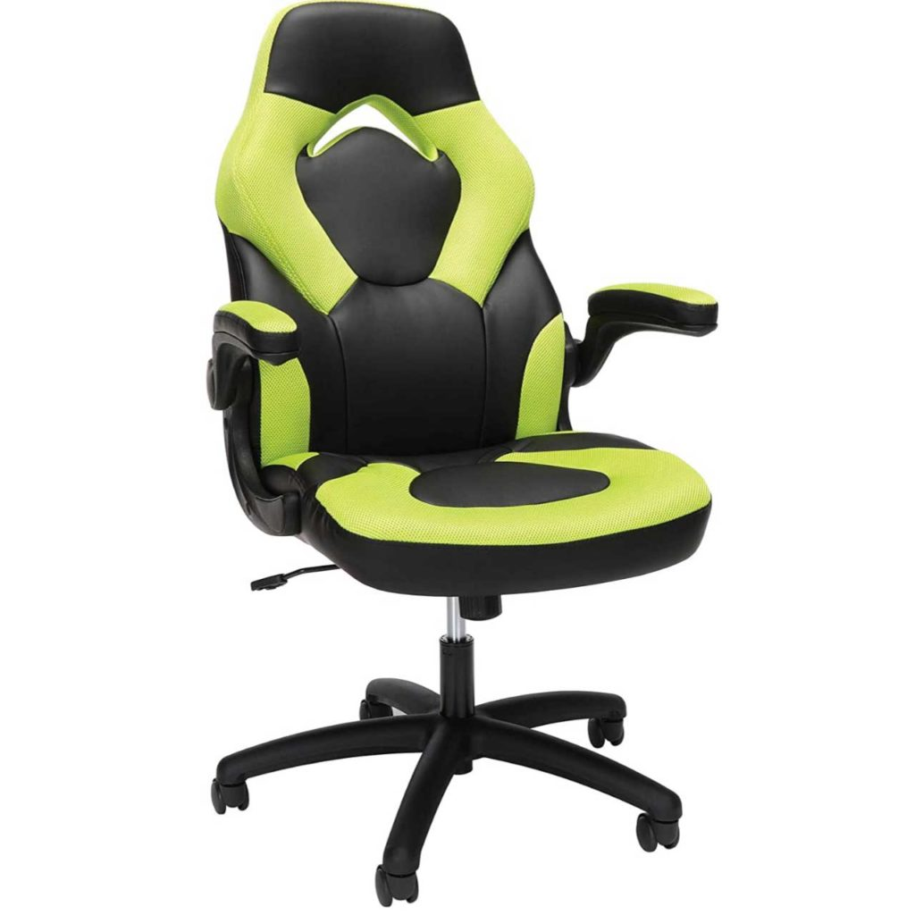 OFM Essentials Collection Racing Style Bonded Leather Gaming Chair Best Gaming Chair under 150 Dollars 2020 Best Computer Gaming Chair SeCoBuy