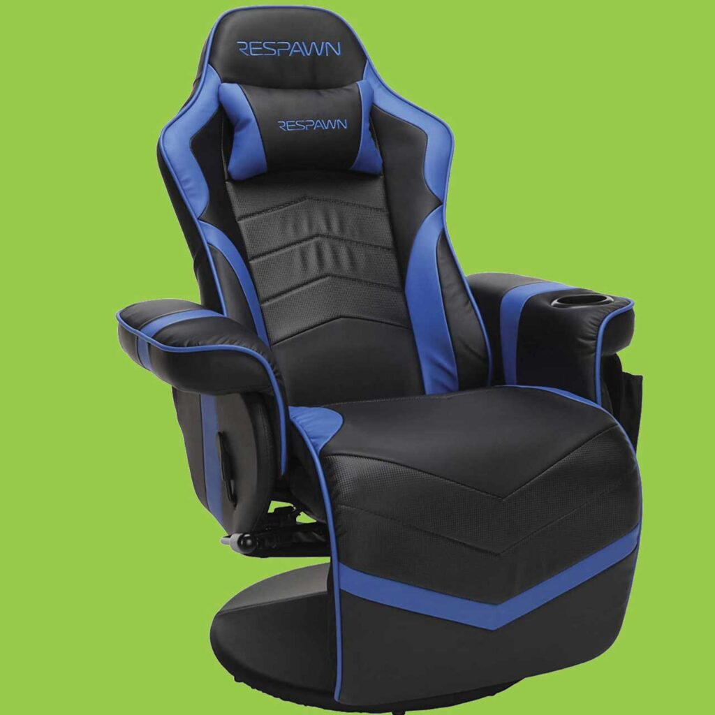 2 Best gaming chair with cup holders Video gaming chair SeCoBuy RESPAWN-900 Racing Style Gaming Recliner, Reclining Gaming Chair