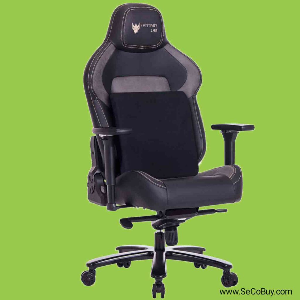 4 Best memory foam gaming chair 2020 SeCoBuy FANTASYLAB Big and Tall 440lb Metal Base Gaming Chair