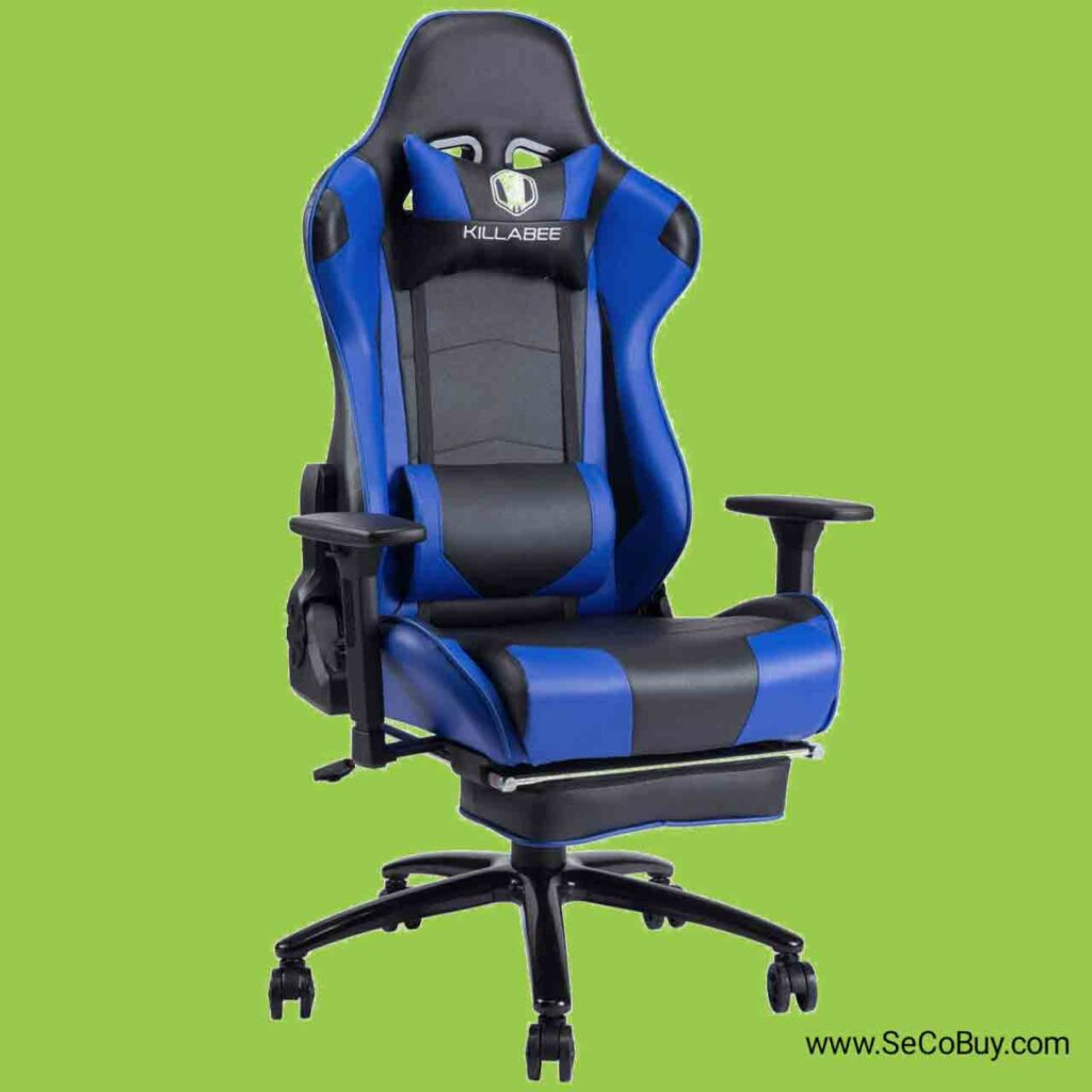 4 Best memory foam gaming chair 2020 SeCoBuy KILLABEE Big and Tall 350lb Massage Memory Foam Gaming Chair