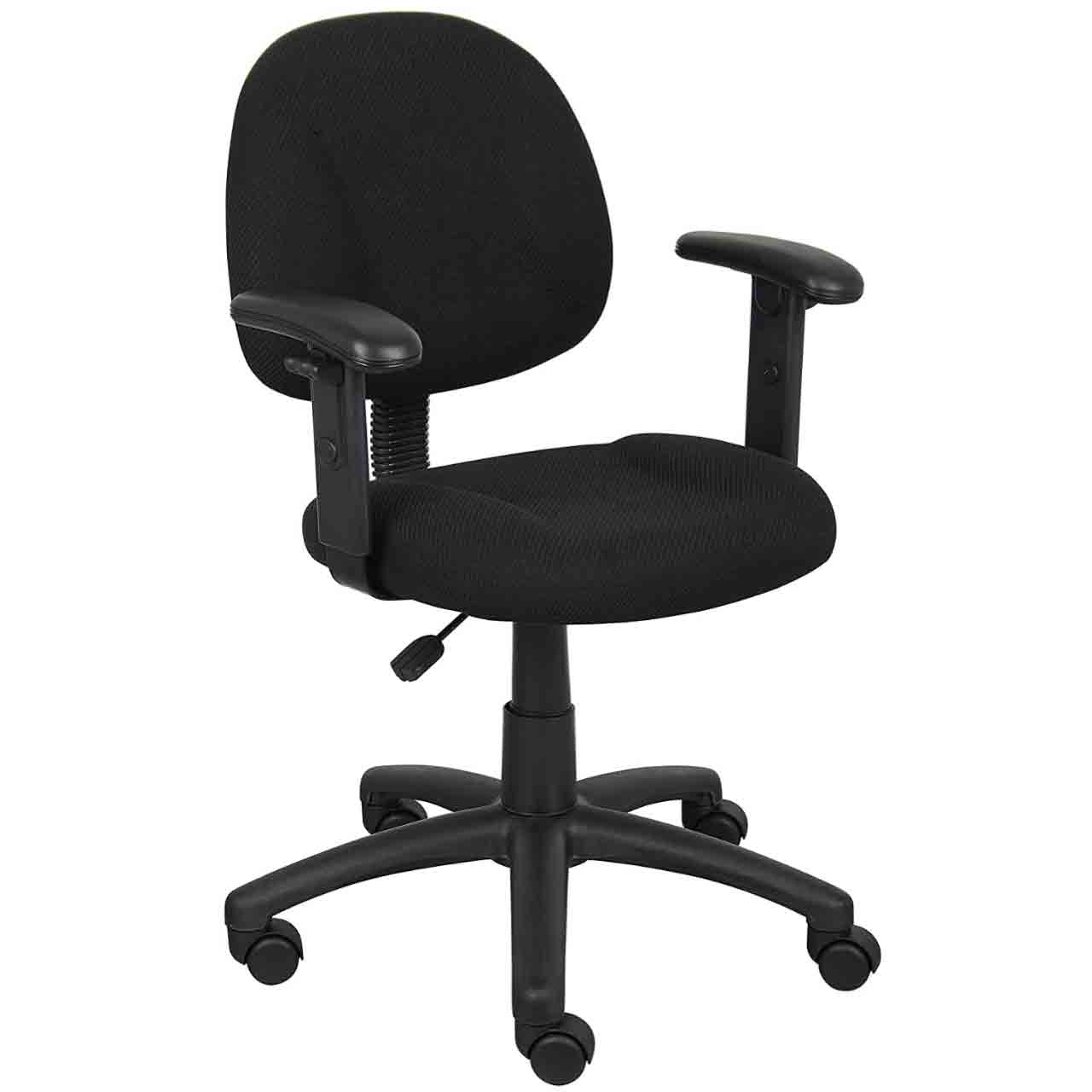 3 Best Office Chair For Short Person 2021 SeCoBuy Boss Fabric Deluxe Task Chair