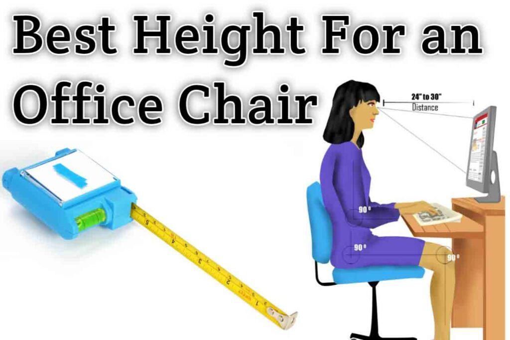 What is the best height for an office chair SeCoBuy