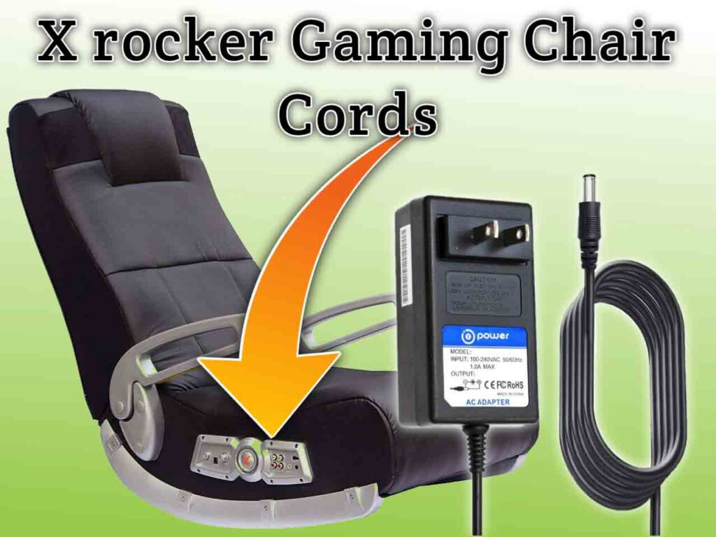 X rocker gaming chair cords SeCoBuy